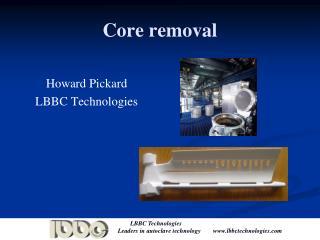 core removal