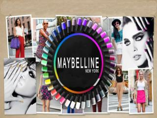 Profile of Maybelline