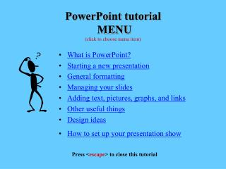 MS-PowerPoint Tutorial