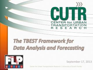 The TBEST Framework for Data Analysis and Forecasting