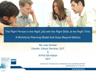 The Right Person in the Right Job with the Right Skills at the Right Time: A Workforce Planning Model that Goes Beyond