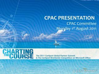CPAC  PreseNTATION