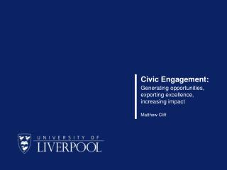 Civic Engagement: