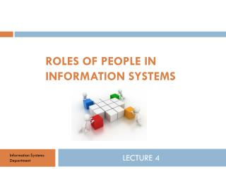 Roles of people in information systems