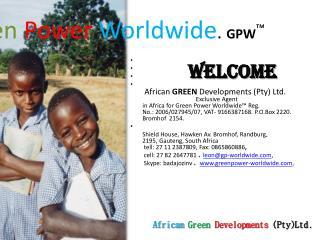 Green Power Worldwide . GPW ™