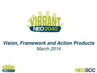 Vision, Framework and Action Products March 2014