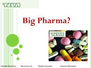 Big  Pharma?