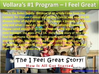 The I Feel Great Story! How It All Got Started