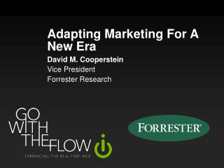 Adapting Marketing For A New Era