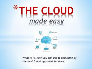THE CLOUD  made easy