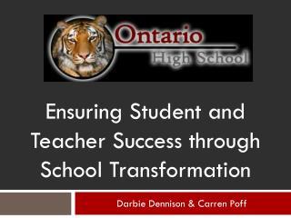 Darbie Dennison & Carren Poff