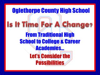 Oglethorpe County High School