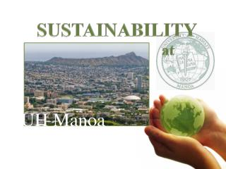 SUSTAINABILITY 				   at