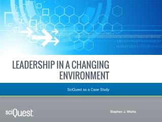 Leadership in a changing environment