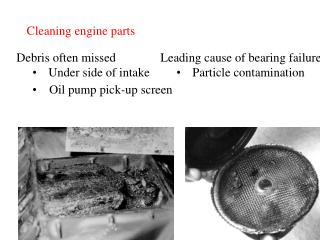cleaning engine parts