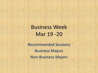 Business Week Mar 19 -20