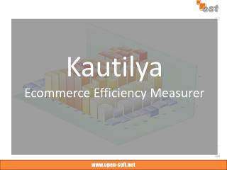 Kautilya Ecommerce Efficiency Measurer