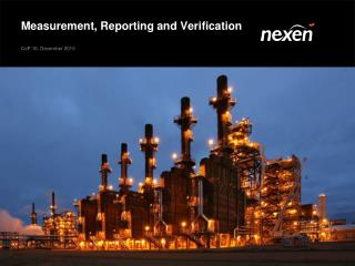 Measurement, Reporting and Verification