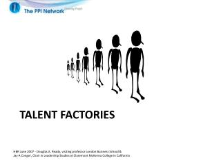 Talent factories