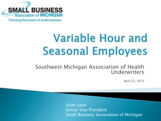 Variable Hour and Seasonal Employees
