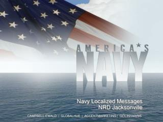 Navy Localized  Messages NRD Jacksonville