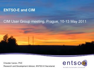 ENTSO-E and CIM
