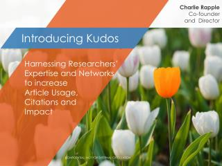 Introducing Kudos