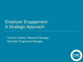 Employer Engagement A Strategic Approach