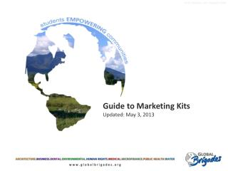 Guide to Marketing Kits Updated: May  3, 2013