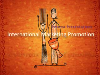 International Marketing Promotion