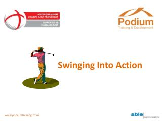 Swinging Into Action