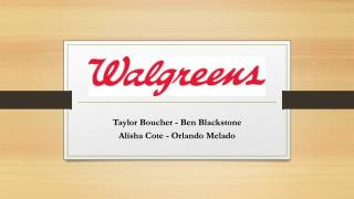 Taylor Boucher - Ben Blackstone Alisha Cote - Orlando  Melado