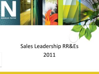 Sales Leadership RR&Es 2011