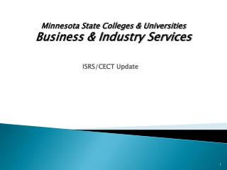 ISRS/CECT Update