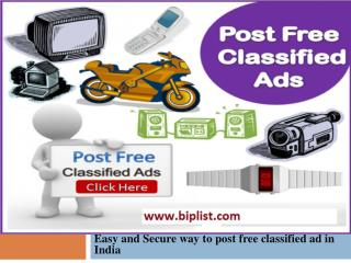 Free classifieds in United States