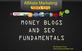 Affiliate Marketing SEO 101