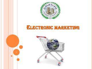 Electronic marketing