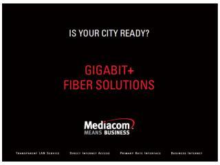 Mediacom Fiber City