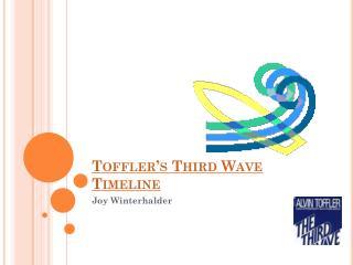 Toffler's Third Wave Timeline