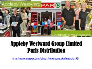 Appleby Westward Group Limited Paris Distribution