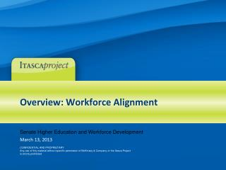 Overview: Workforce Alignment