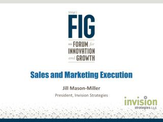Sales and Marketing Execution