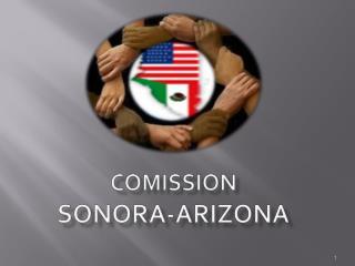 COMISSION  SONORA-ARIZONA