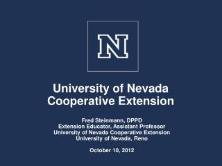 University of Nevada Cooperative Extension