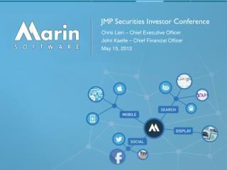 JMP Securities Investor Conference