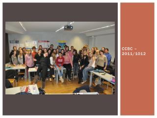 CCBC – 2011/1012