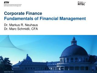 Corporate Finance Fundamentals of Financial Management