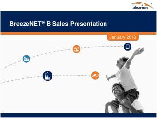 BreezeNET ®  B Sales Presentation