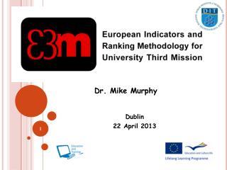 Dublin  22 April 2013