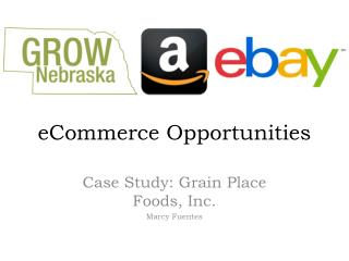 eCommerce  Opportunities